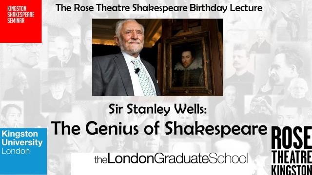 Stanley Wells Genius of Shakespeare background